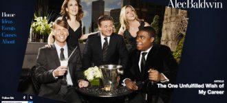 Alec Baldwin leads film industry with online presence