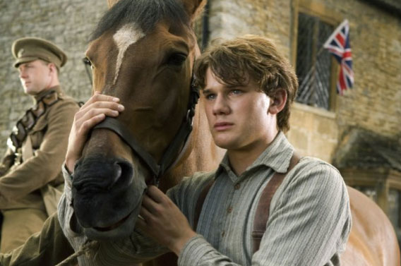 Movie 'the war horse' because real horses are not good actors