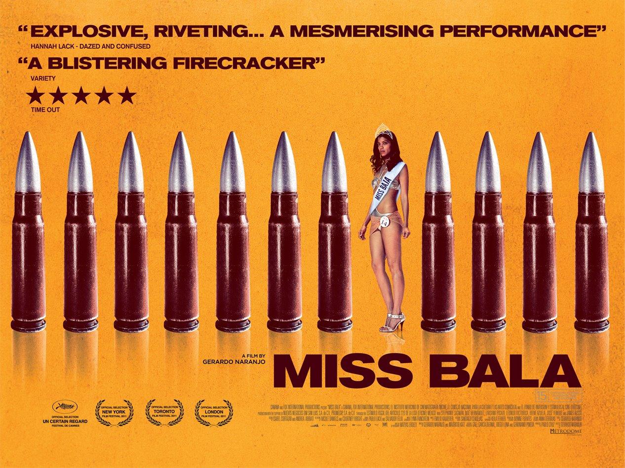 Miss Bala film poster