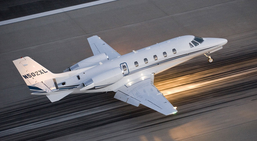 Cessna-Citation-XLS-hire-private-jet