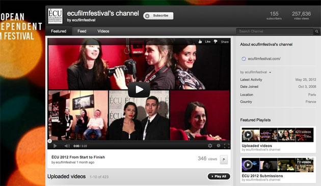 ECU Film Festival Channel