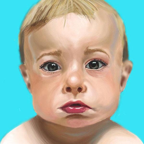 Cimone Key digital art baby