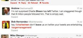 Charlie Sheen's abandoned Twitter nation asks why?
