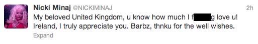 Nicki-Minaj-tweet-uk-loves-fans