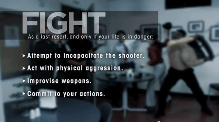 PSA-survive-a-shooter video