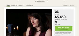 Indie music artist and Grammy nominated producer turn to Kickstarter