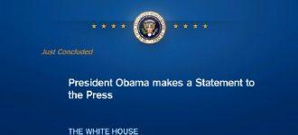 President Obama makes statement on Boston explosions
