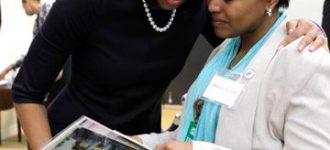 Road to Washington : Meeting Michelle Obama