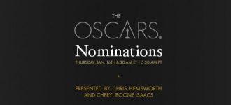 Live : Oscars nominations 2014