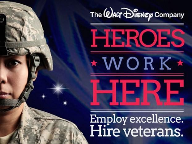 Walt-Disney-hiring-veterans