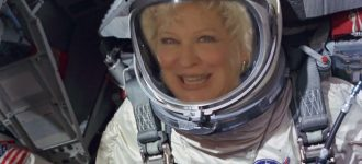 Bette Midler wants to plant a tree on the moon with your help