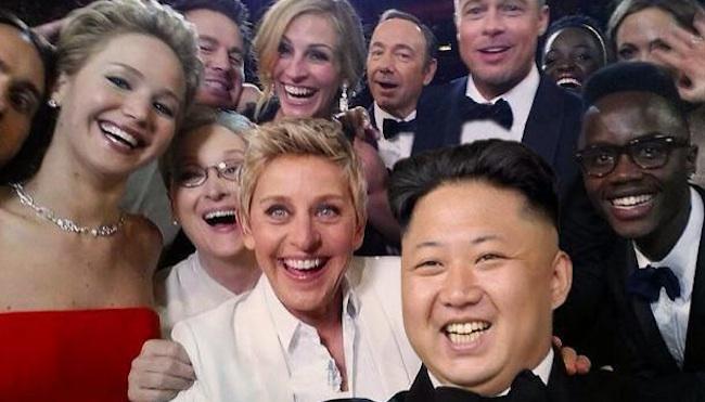 Kim Jong Un Oscars parody