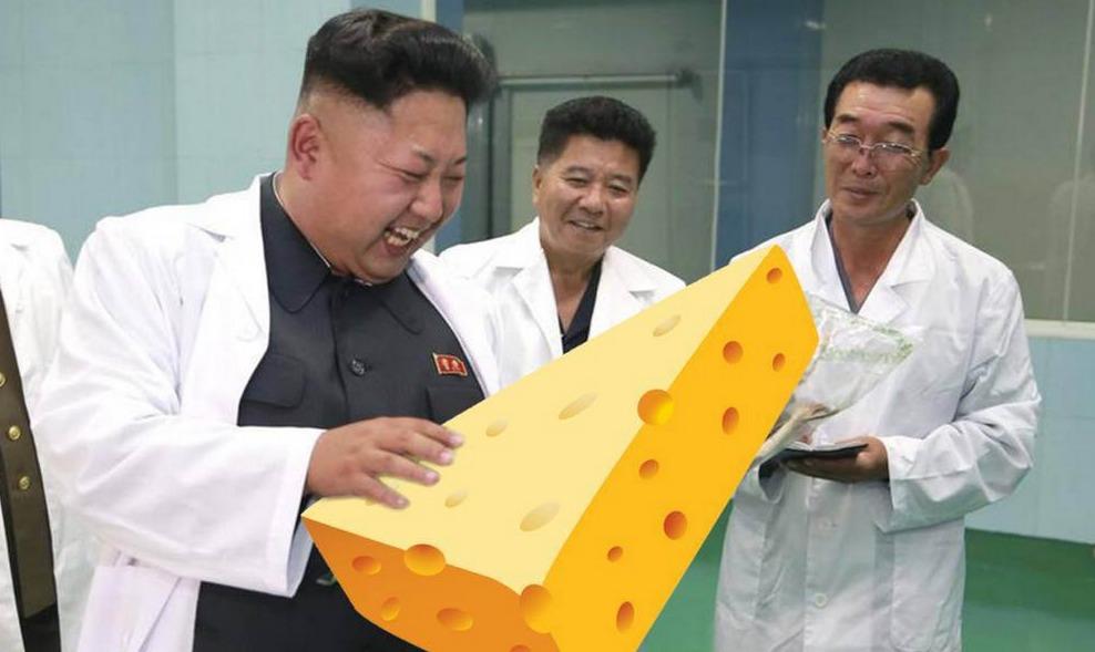 Kim Jong Un cheese obsession