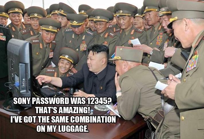Kim-jong-un hacks Sony Password