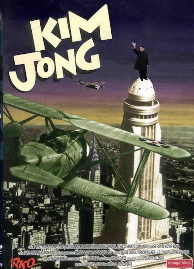 King Kong Kim Jong Un