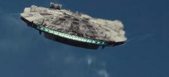 This is the Star Wars version of Harrison Ford's plane crash