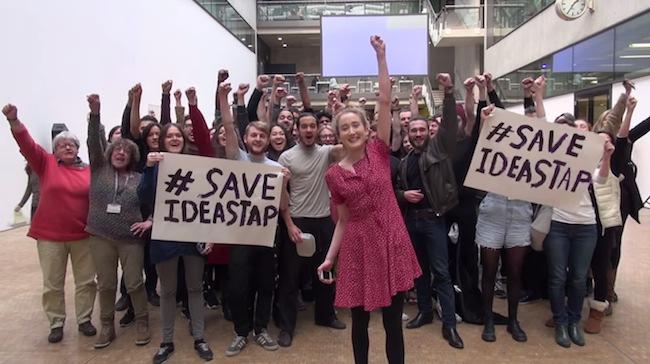 save-ideastap-campaign-uk