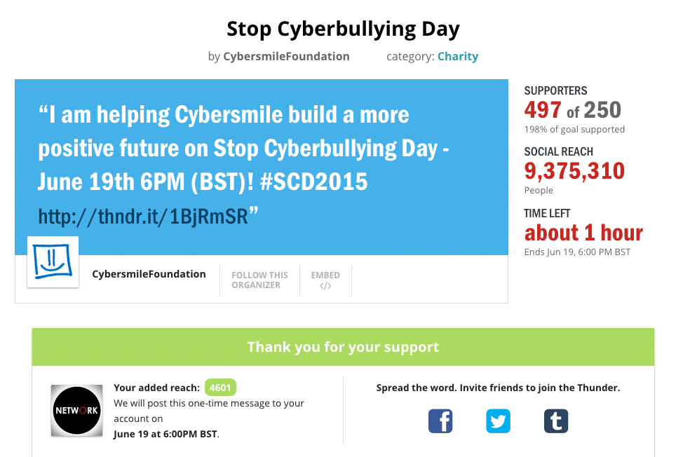 Cybersmile-Foundation-Thunderclap