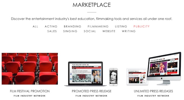 Film-Industry-Networking-Marketplace-Services