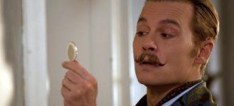 Johnny Depp in 'Mortdecai'