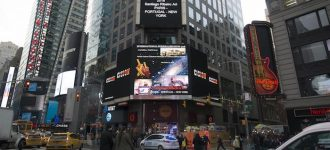 Art by Santiago Ribeiro on display at Times Square in New York heads to Coimbra, Portugal