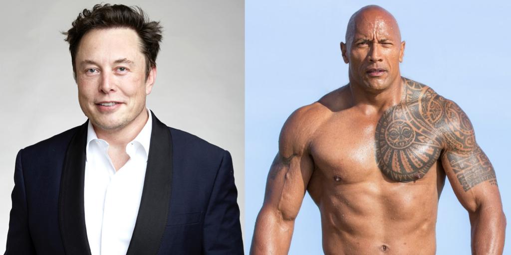 Elon-Musk-The-Rock-Dwayne-Johnson-Meme-mashup