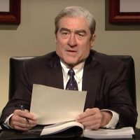 Almost no one approved of Robert De Niro's Mueller performance on SNL