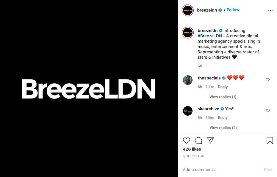 BreezeLDN-Instagram-announcement