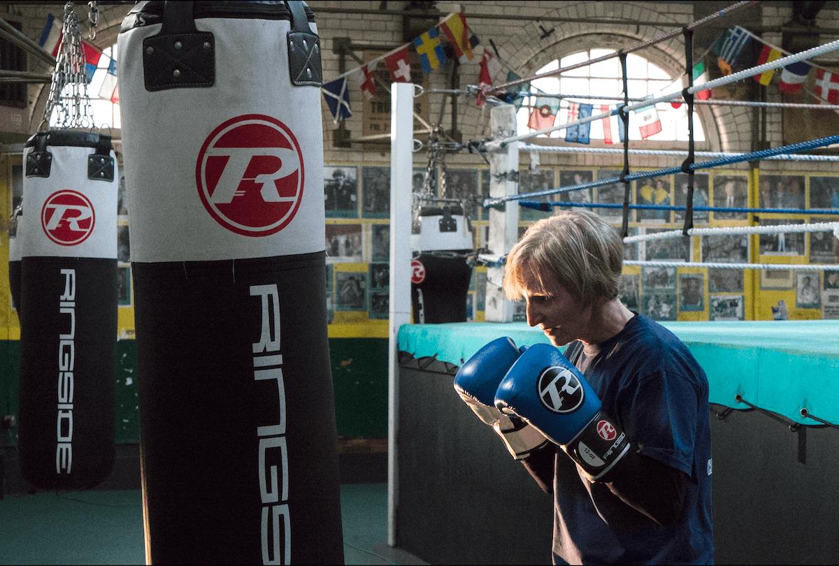 Sandra-Punch-bag-Repton-Boxing-Gym